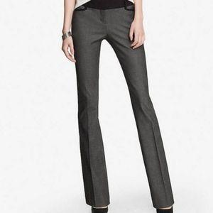 Express Columnist Gray Black Dress Pants Slacks 0S